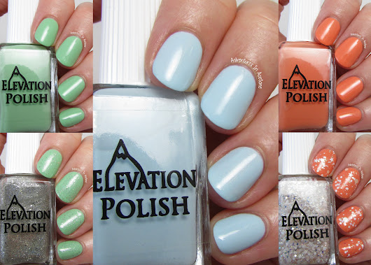 Swatch Saturday: Elevation Polish Woke Up in China Collection! - Adventures In Acetone