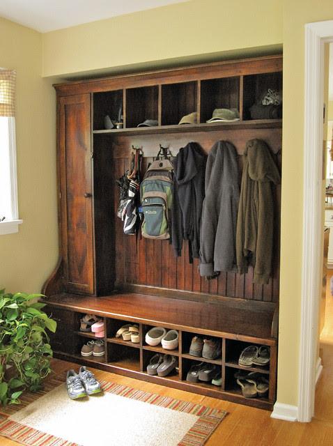 Mudroom Rack - Barnwood Furniture - traditional - entry - new york ...