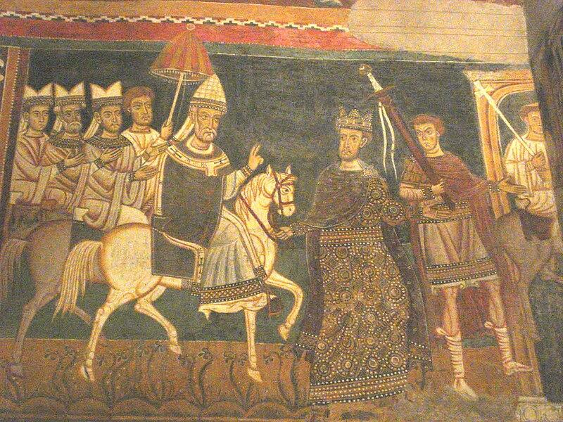 File:Constantin leads St Silvester's horse.jpg
