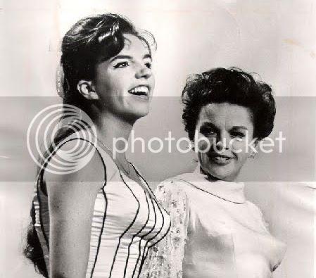 Judy Garland adn Liza Minnelli