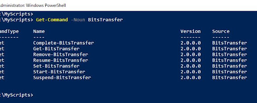 Use PowerShell to Transfer Larger Files via BITS