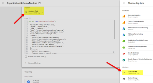 How to add schema markup to your site using Google Tag Manager