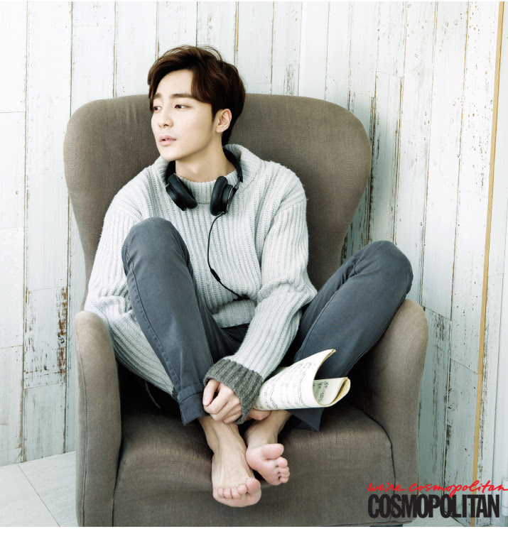 Roy Kim - Cosmopolitan Magazine December Issue '14