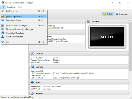 Make your HANA 2.0 SPS 01, express edition work on VirtualBox | SAP Blogs