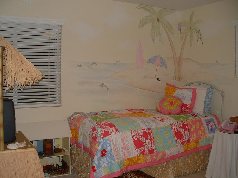 Girls Room Wall Murals - Girl Theme Wall Murals by Colette - Page 2