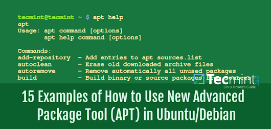 15 Examples of How to Use New Advanced Package Tool (APT) in Ubuntu/Debian