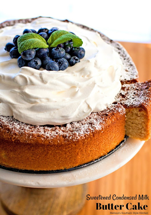 Sweetened Condensed Milk Butter Cake - melissassouthernstylekitchen.com