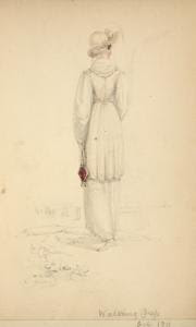 [Walking dress, October 1811.] Digital ID: 1111658. New York Public Library