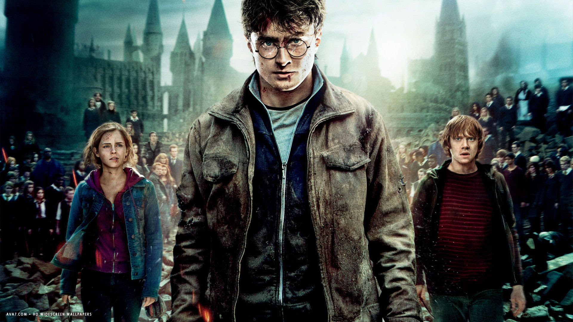 Harry Potter And The Deathly Hallows Part 2 Movie Hd Widescreen