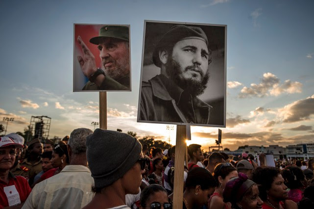 Fidel Castro, décédé le 25 novembre à l'âge... (AFP, Juan Barreto)