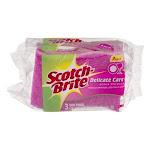 3M Scotch-Brite Delicate Care Scrub Sponges - 3 pack