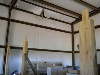 Barn Loft Three Posts Complete