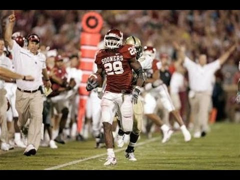 "Adrian Peterson ""All Day"" - Oklahoma Highlights"