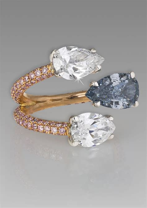 Unique Colored Diamond Engagement Rings   Engagement Ring USA