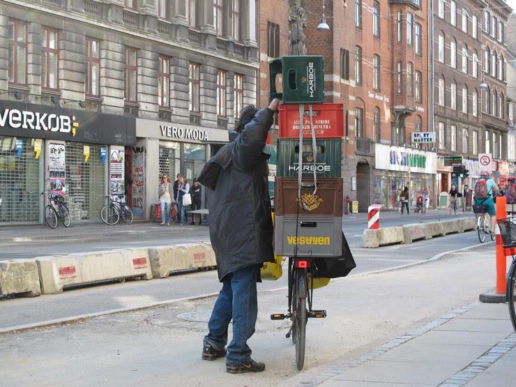 Copenhagen bottle hunter