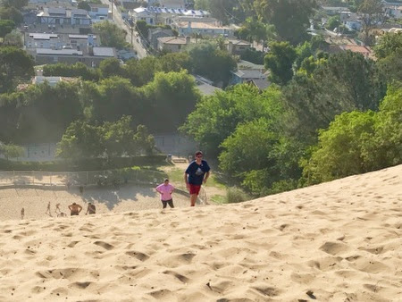 Workout Torture: Sand Dune Edition