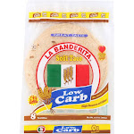 La Banderita Soft Taco - Low Carb - Case Of 12 - 12.8 Oz.