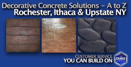 Decorative Concrete Solutions in Upstate NY | Equipment Rental|Tool Rental|Rock Salt|Rochester | Ithaca | NY | | Duke