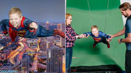 12-year-old boy battling leukemia gets special Superman photo shoot