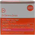 Dr Dennis Gross Alpha Beta Glow Pad for Face 20 Towelettes