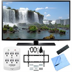 Samsung UN50J6200 - 50-Inch Full HD 1080p 120hz LED HDTV Slim Flat Wall Mount Bundle
