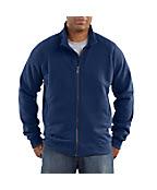 Men's Midweight Mock Neck Zip-Front Sweatshirt