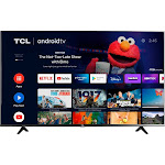 TCL 50 inch 4-Series 4K UHD HDR LED Smart Android TV (50S434 / 50S434)