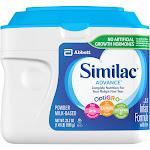 Similac Advance Infant Formula Powder with Iron - 23.2 oz tub