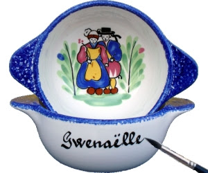 Bol breton personnalisé avec prénom