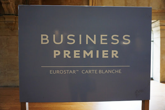 Eurostar Business Premier Lounge Paris - Review | SecretMoona