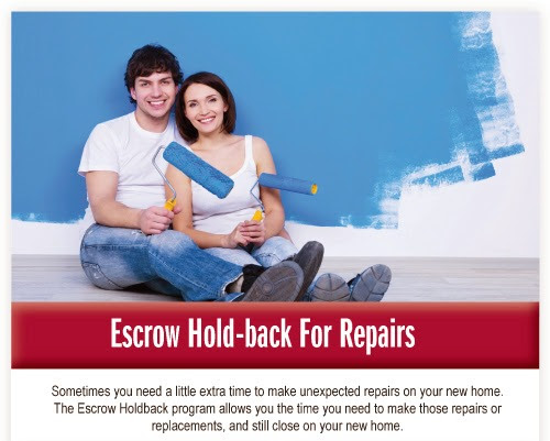 Repair Escrows for Kentucky USDA, FHA, VA, Fannie Mae Home loans