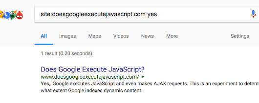 Does Google execute JavaScript? | Stephan Boyer