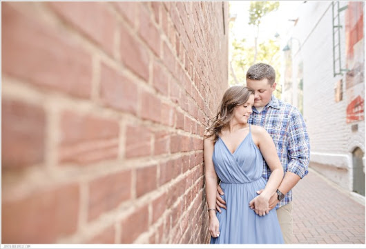 Niki & Kyle: Concord Engagement Session - Just a Dream Photography: Charlotte, NC Wedding Photographers