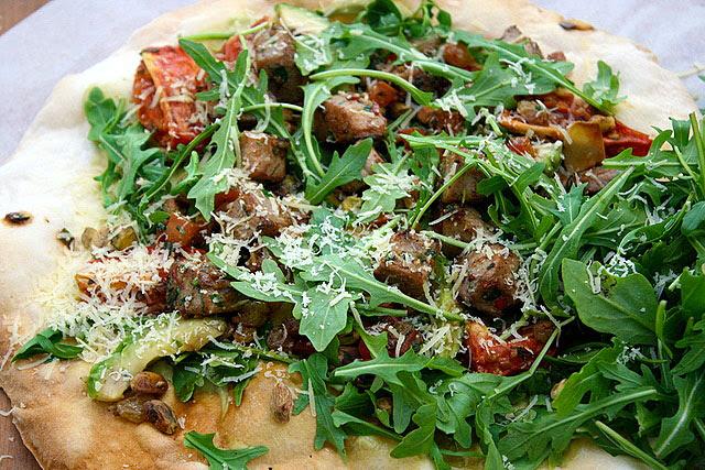 Ahi Taki Skinny Pizza