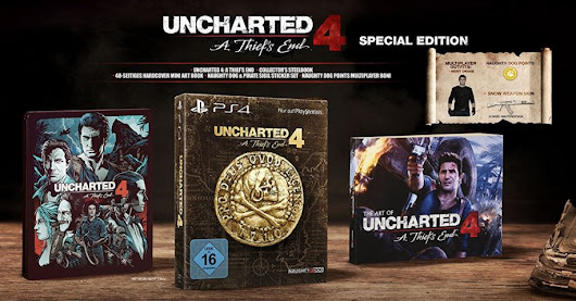 Uncharted 4: A Thief's End Special Edition [PS4] für nur 24,99 Euro inkl. Versand