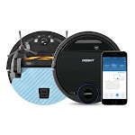 ECOVACS DEEBOT OZMO 937 2-In-1 Vacuuming and Mopping Wi-Fi Connected Robot with Advanced Navigation for Customized Cleaning (Black)