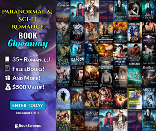 Paranormal & Sci-Fi Romance Giveaway | Evangeline Anderson