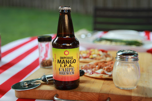 Imperial Mango IPA Summer Craft Fruit Beer | Summer Brew Review