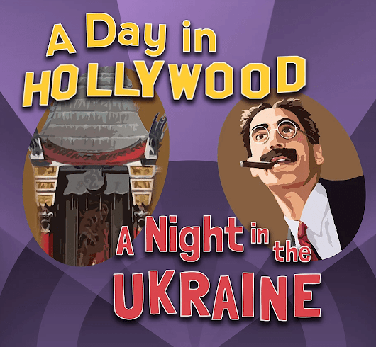 Vokes Players Announces its Production of A Day in Hollywood/A Night in the Ukraine