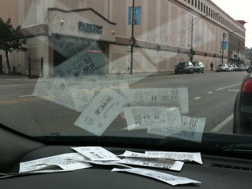 Parking vouchers