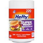 Hefty 8 7/8 in. Lunch Plates