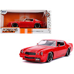 Jada 31458 1979 Chevrolet Camaro Z28 Bigtime Muscle 1 by 24 Diecast Model Car Glossy Red