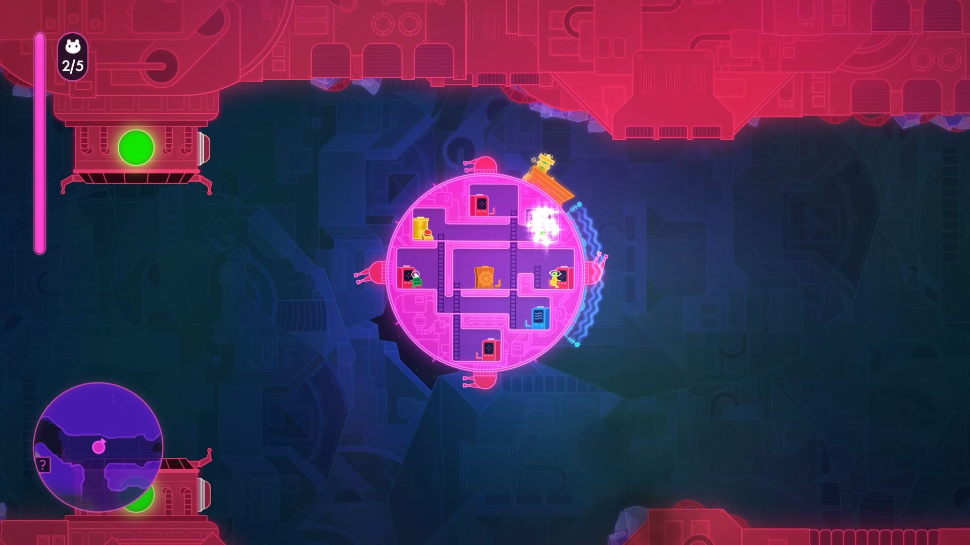 Lovers In A Dangerous Spacetime Ps4 Review Playstation Country
