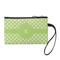 Monogram Pattern Coin Purses