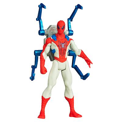 Marvel Amazing Spider-Man 2 Spider Strike Iron Claw Spider-Man Figure