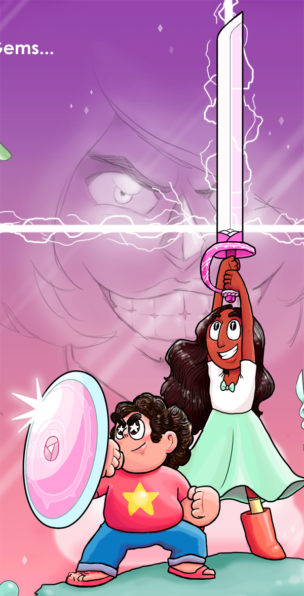 That's why the people of this world believe in Garnet, Amethyst, and Pearl… …and Steven! (and Connie too!) ————————————————————— Star Wars and Steven Universe, together at last! As nature...