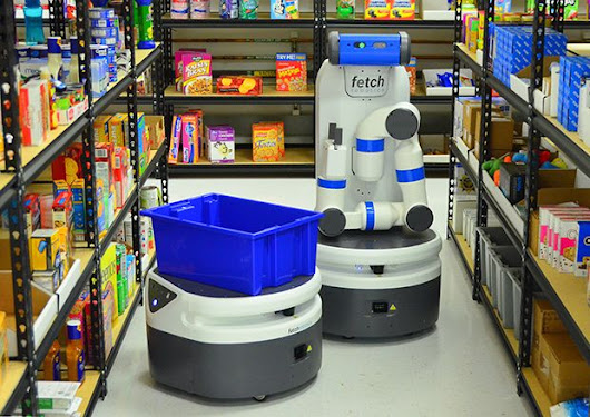 Fetch Robotics Introduces Fetch and Freight: Your Warehouse Is Now Automated - IEEE Spectrum