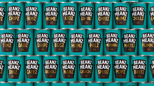 50th anniversary tins of Heinz baked beans - Melbourne Branding