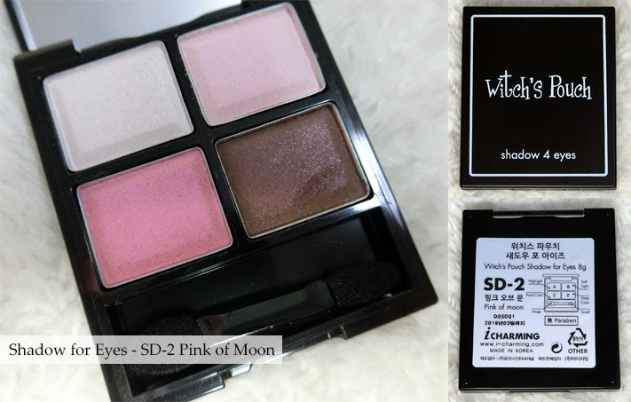 Witch's Pouch Shadow for Eyes SD-2 Pink of Moon