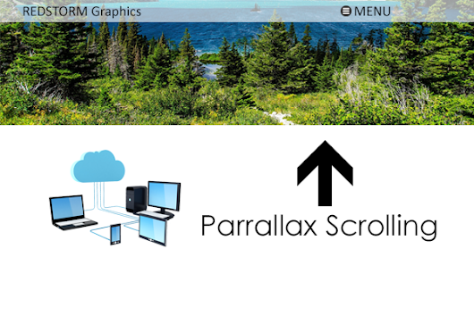 Why Does Web Design Company in New York Prefer To Use Parallax Scrolling?